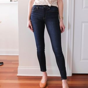 Everlane Mid-Rise Ankle Skinny Jeans